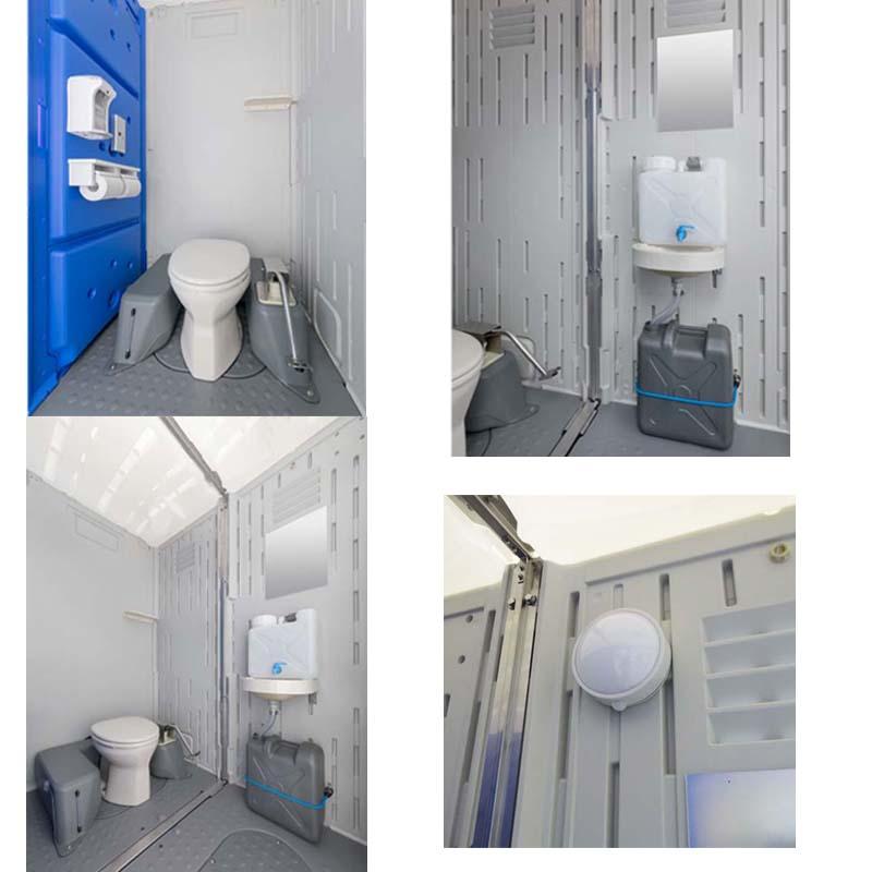 仮設トイレのハマネツのイクストイレの画像です