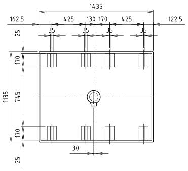 ハマネツの仮設屋外シャワーユニットFS2-23Sの仕様図3です